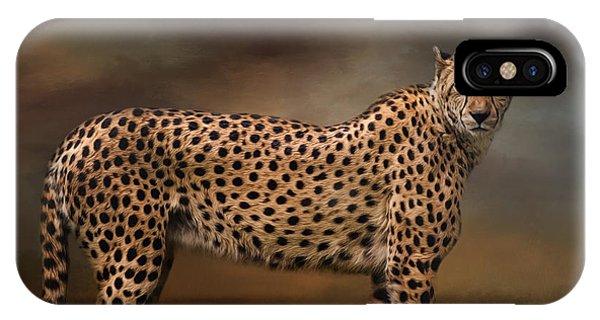 What You Imagine - Cheetah Art IPhone Case