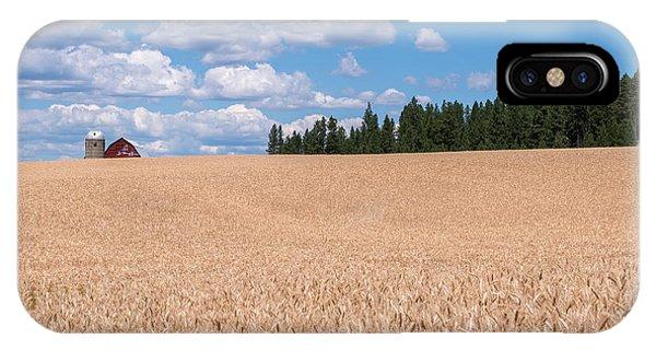 Wheat Fields IPhone Case