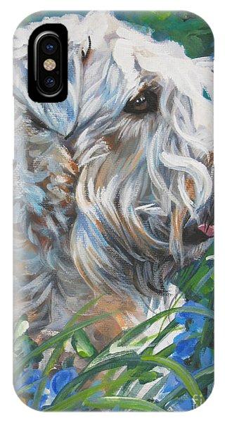Coat iPhone Case - Wheaten Terrier by Lee Ann Shepard