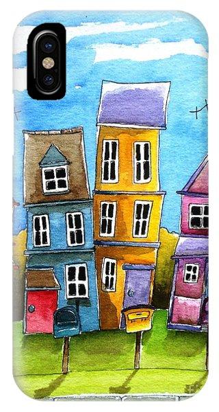 Wheaton Phone Case by Lucia Stewart