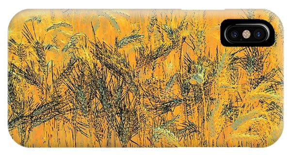Wheatscape 6343 IPhone Case