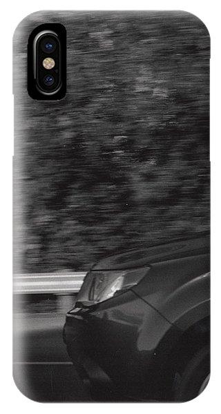 Wheel Blur Photograph IPhone Case
