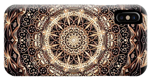 Wheel Of Life Mandala IPhone Case