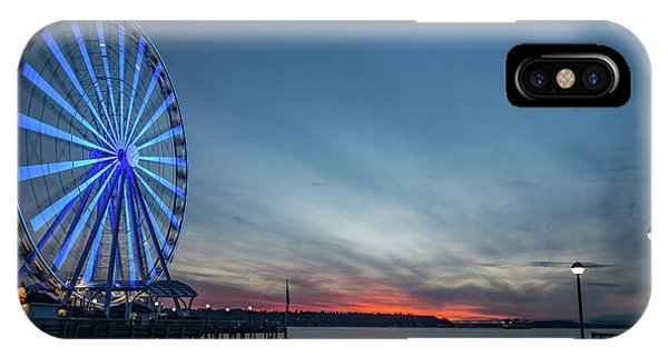Wheel On The Pier IPhone Case