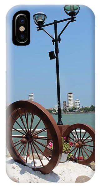 Wheels By The Water IPhone Case