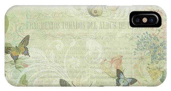 When A Butterfly Dreams IPhone Case