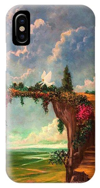 When Angels Garden In Heaven IPhone Case