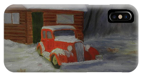 When Cars Were Big And Homes Were Small IPhone Case