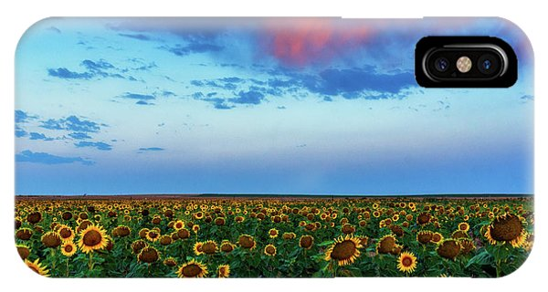 IPhone Case featuring the photograph When Clouds Dance by John De Bord