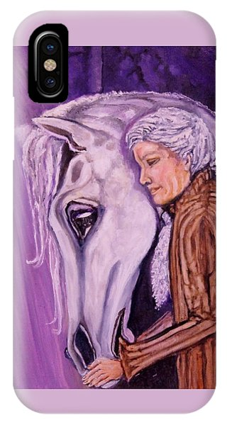 When I'm An Old Horsewoman IPhone Case