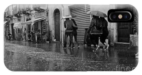 When It Rains It Pours IPhone Case
