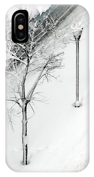 When Nature Quiets The City IPhone Case