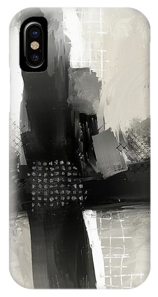 IPhone Case featuring the mixed media When Paths Cross by Eduardo Tavares