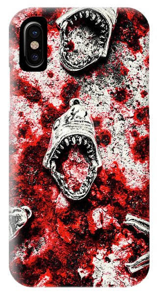 Zombies iPhone Case - When Sharks Attack  by Jorgo Photography - Wall Art Gallery