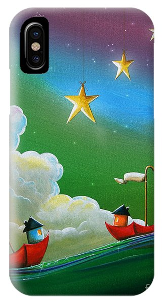 Imagination iPhone Case - When Stars Align by Cindy Thornton