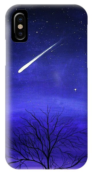 Shooting iPhone Case - When Stars Fall by Katie Slaby