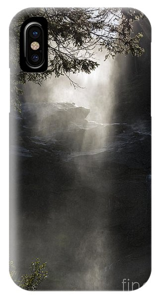 When Sunlight And Water Spray Meet 03 IPhone Case