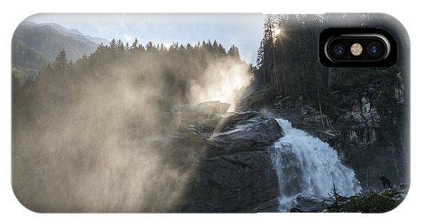 When Sunlight And Water Spray Meet 10 IPhone Case