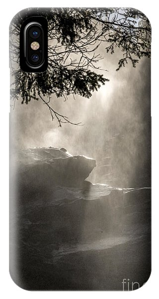 When Sunlight And Water Spray Meet IPhone Case