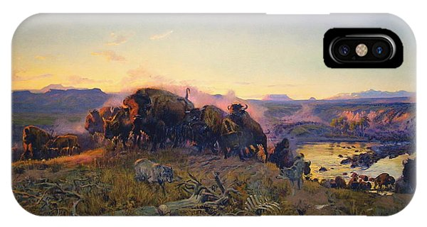 When The Land Belonged To God IPhone Case
