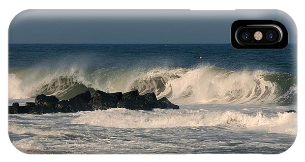 When The Ocean Speaks - Jersey Shore IPhone Case
