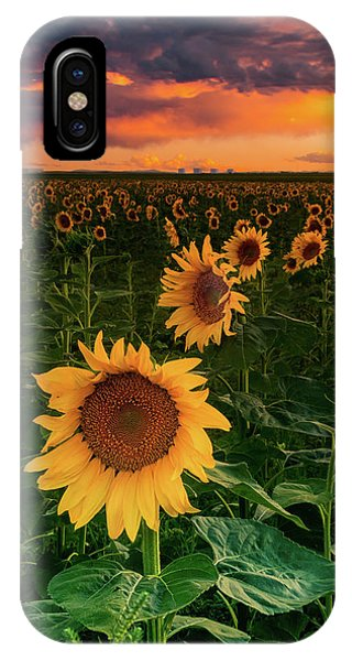 IPhone Case featuring the photograph When The Sky Sings by John De Bord