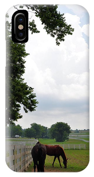 When The Winds Begin To Sing IPhone Case