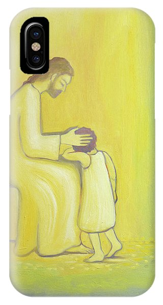 My Son iPhone Case - When We Repent Of Our Sins Jesus Christ Looks On Us With Tenderness by Elizabeth Wang