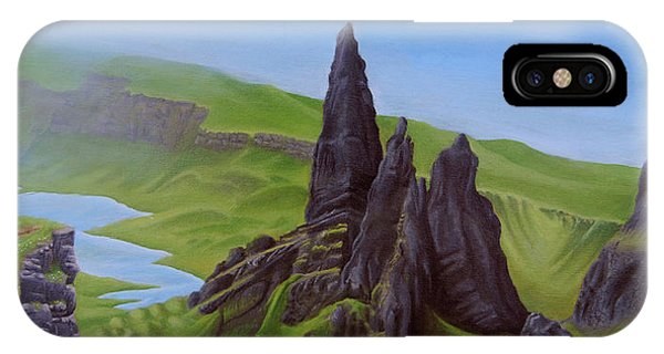 Where Giants Roam The Skye IPhone Case