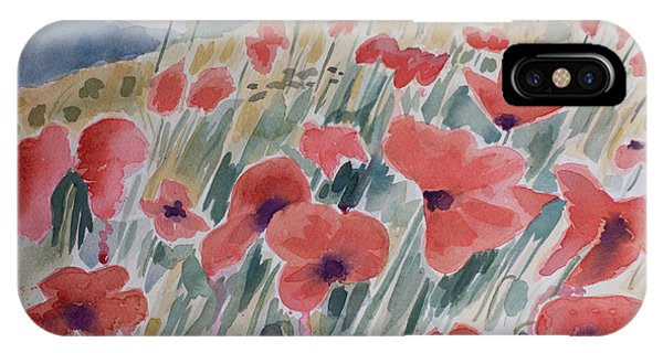 Where Poppies Grow IPhone Case