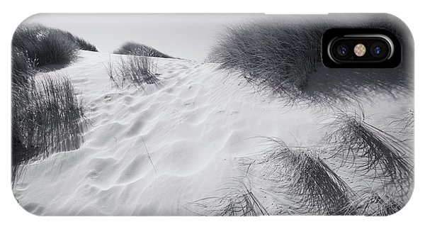 Oregon Sand Dunes iPhone Case - Where The Wild Grass Blows by Bonnie Bruno
