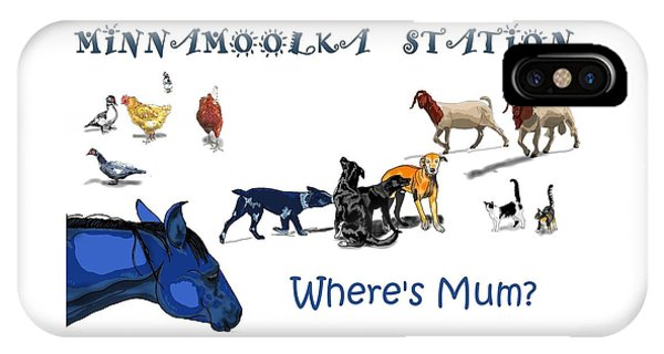 iPhone Case - Where's Mum by Joan Stratton