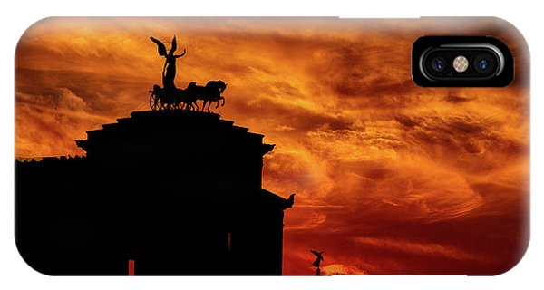 While Rome Burns IPhone Case