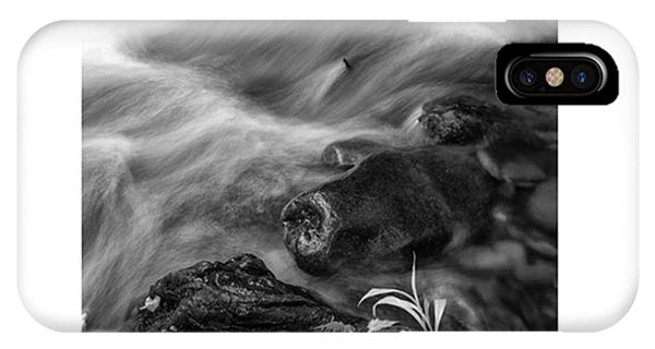 iPhone Case - While Standing Next To A Stream I by Jon Glaser