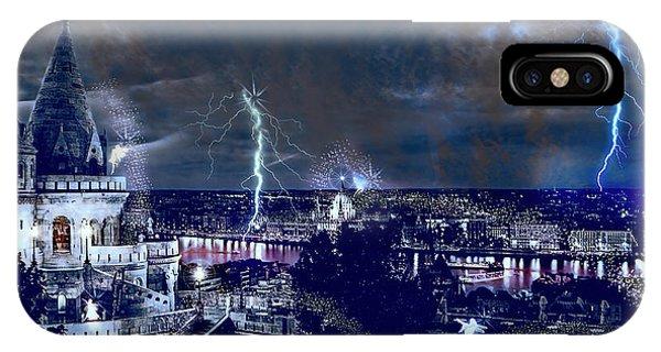 Whimsical Budapest IPhone Case