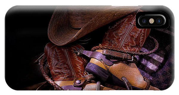 Whip It Cowboy IPhone Case