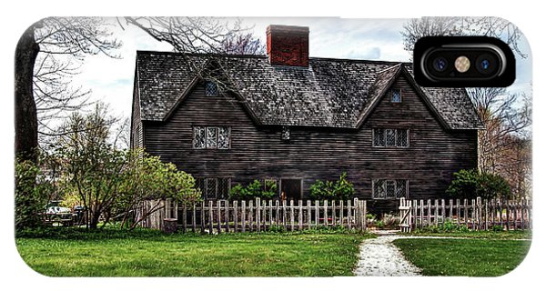The John Whipple House In Ipswich IPhone Case