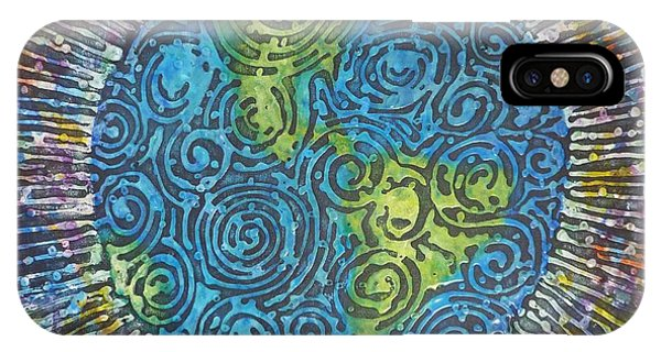 Whirled Piece IPhone Case