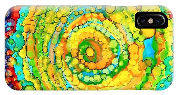 Whirling IPhone Case
