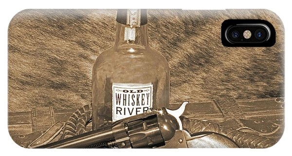 Whiskey And A Gun IPhone Case
