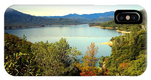 Water Ski iPhone Case - Whiskeytown Lake 1 by Joyce Dickens