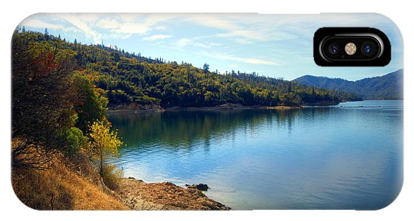 Water Ski iPhone Case - Whiskeytown Lake Two by Joyce Dickens
