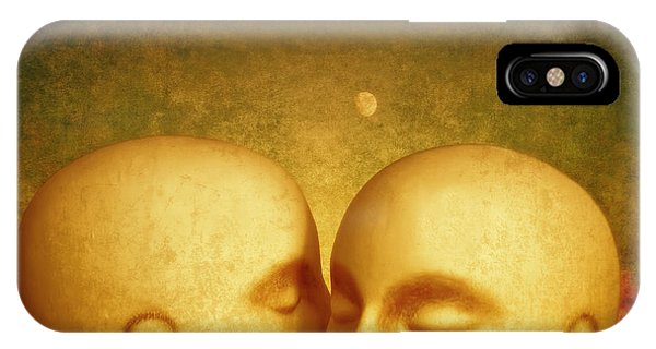 IPhone Case featuring the photograph Whispers by Jeff  Gettis