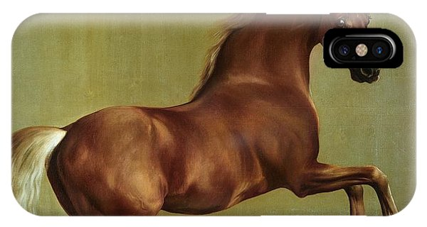 Horse iPhone X Case - Whistlejacket by George Stubbs