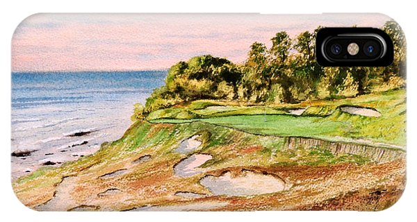 Whistling Straits Golf Course 17th Hole IPhone Case