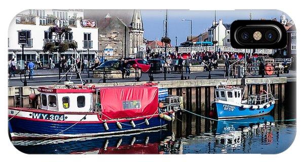 Whitby Harbor, United Kingdom IPhone Case
