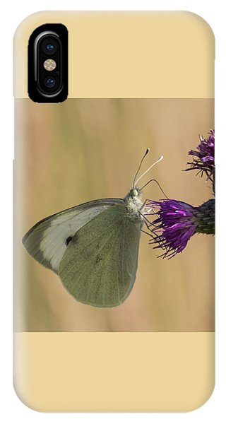 White And Purple IPhone Case