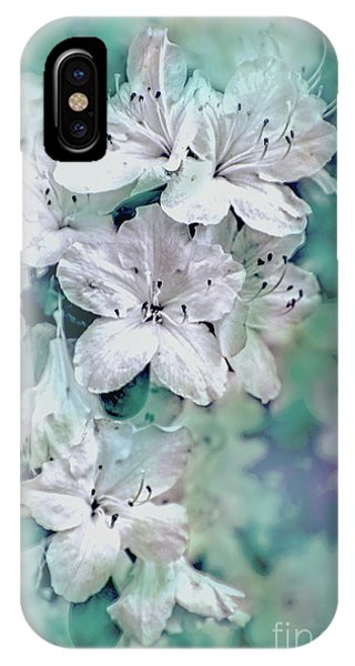 White Azaleas IPhone Case