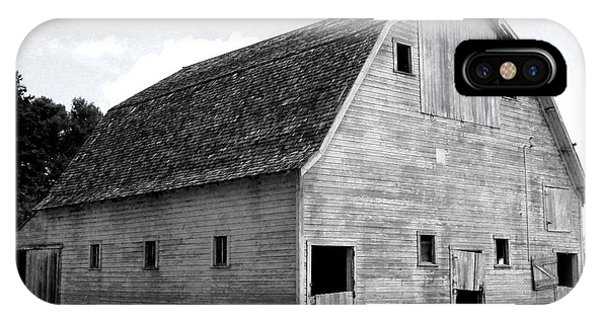White Barn IPhone Case