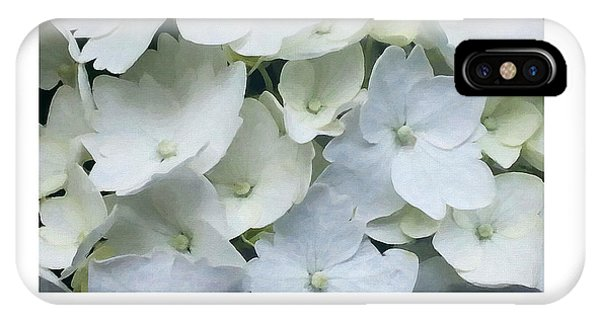 White Blossom IPhone Case